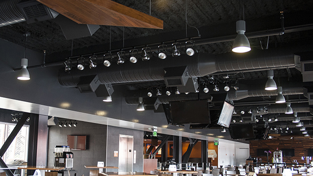 projects open ceiling acoustics